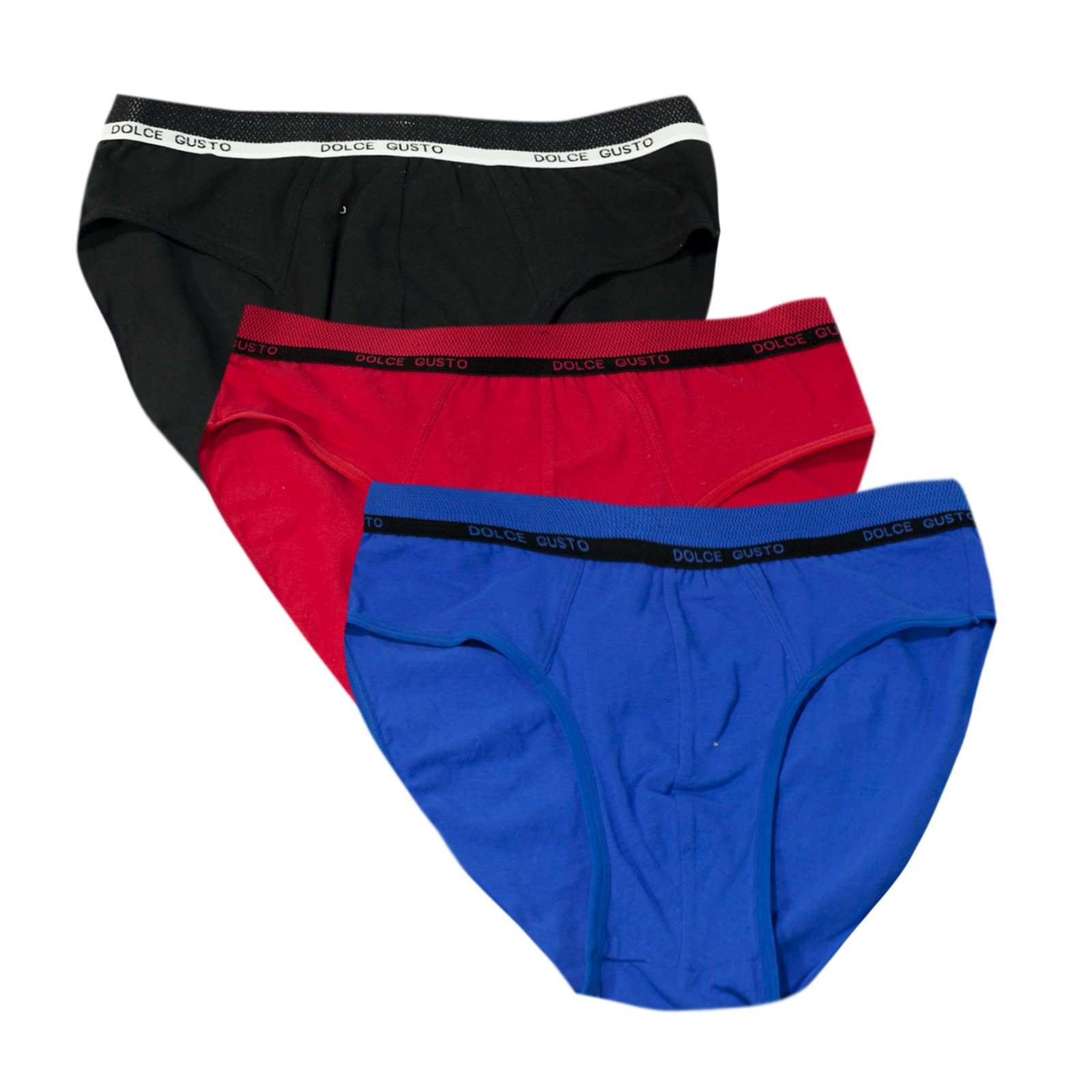 Dolce Gusto Men's Boxers Brief 3-Pack - XXXL by Love Hana (Image #3)