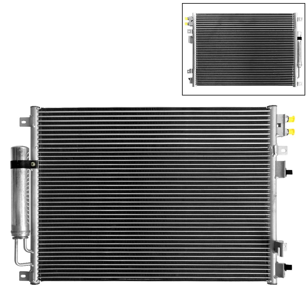(xTune) A/C Condenser For Chrysler 300 05-10 / Dodge Challenger 09-16 / Charger 06-16 / Magnum 05-08