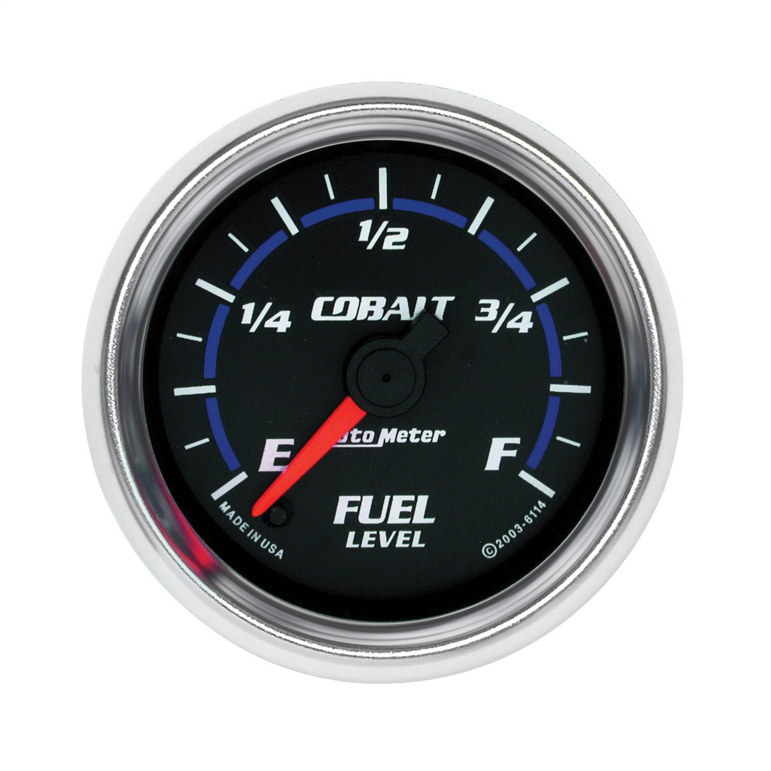 Auto Meter 6114 Cobalt Full Sweep Electrical Fuel Level Gauge