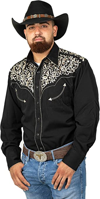STARS & STRIPES Western Camisa Henry