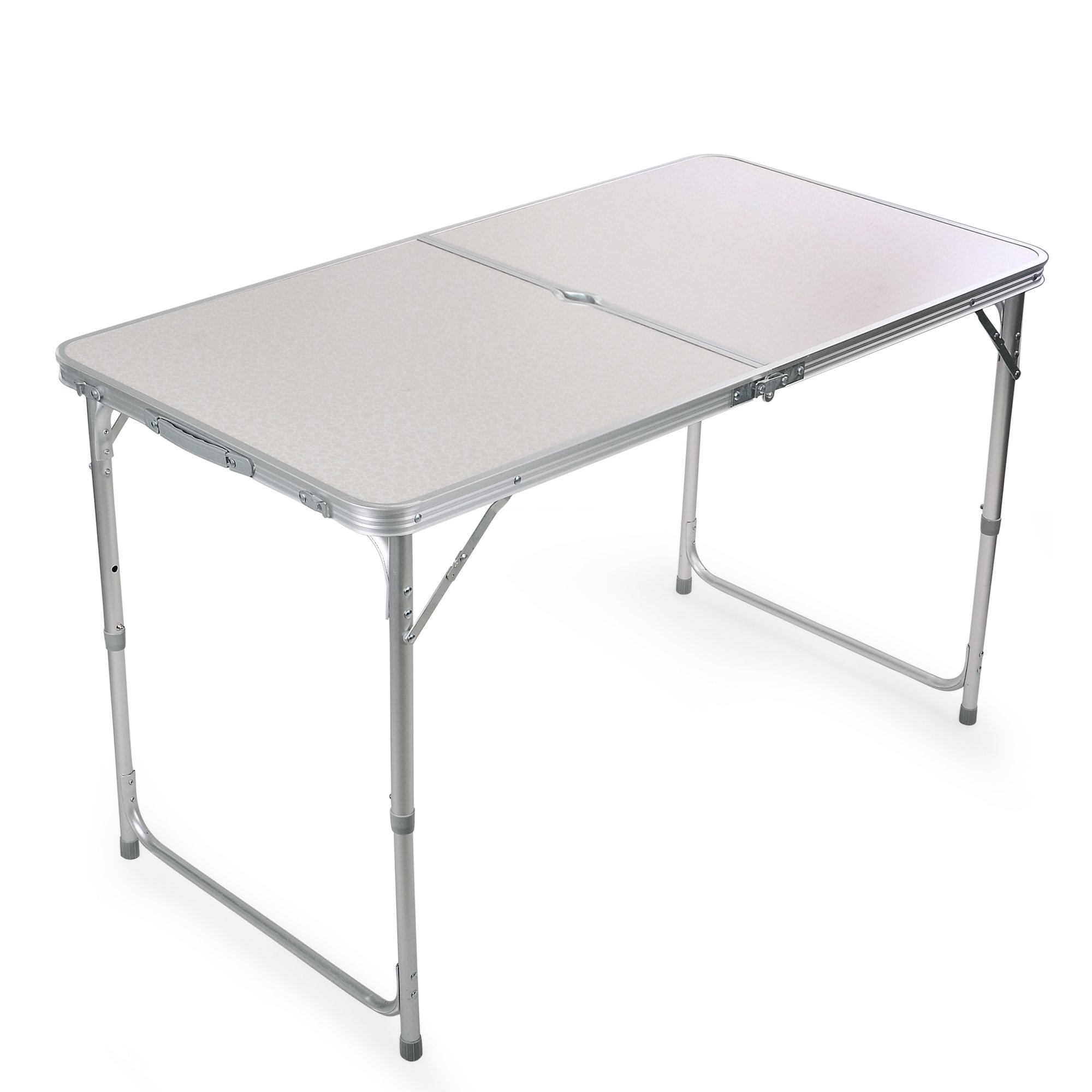 Portable Height Adjustable Aluminum Folding Camping Table FT-ACFT1 by H&B Luxuries