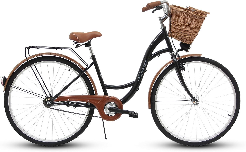 Goetze 28 ″ 1B Classic Eco, bicicleta, City Bikes, Ciudad, Retro ...
