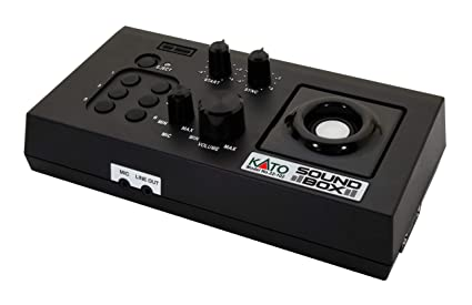 Amazon.com: Kato - Caja de sonido (tarjeta sonora se vende ...