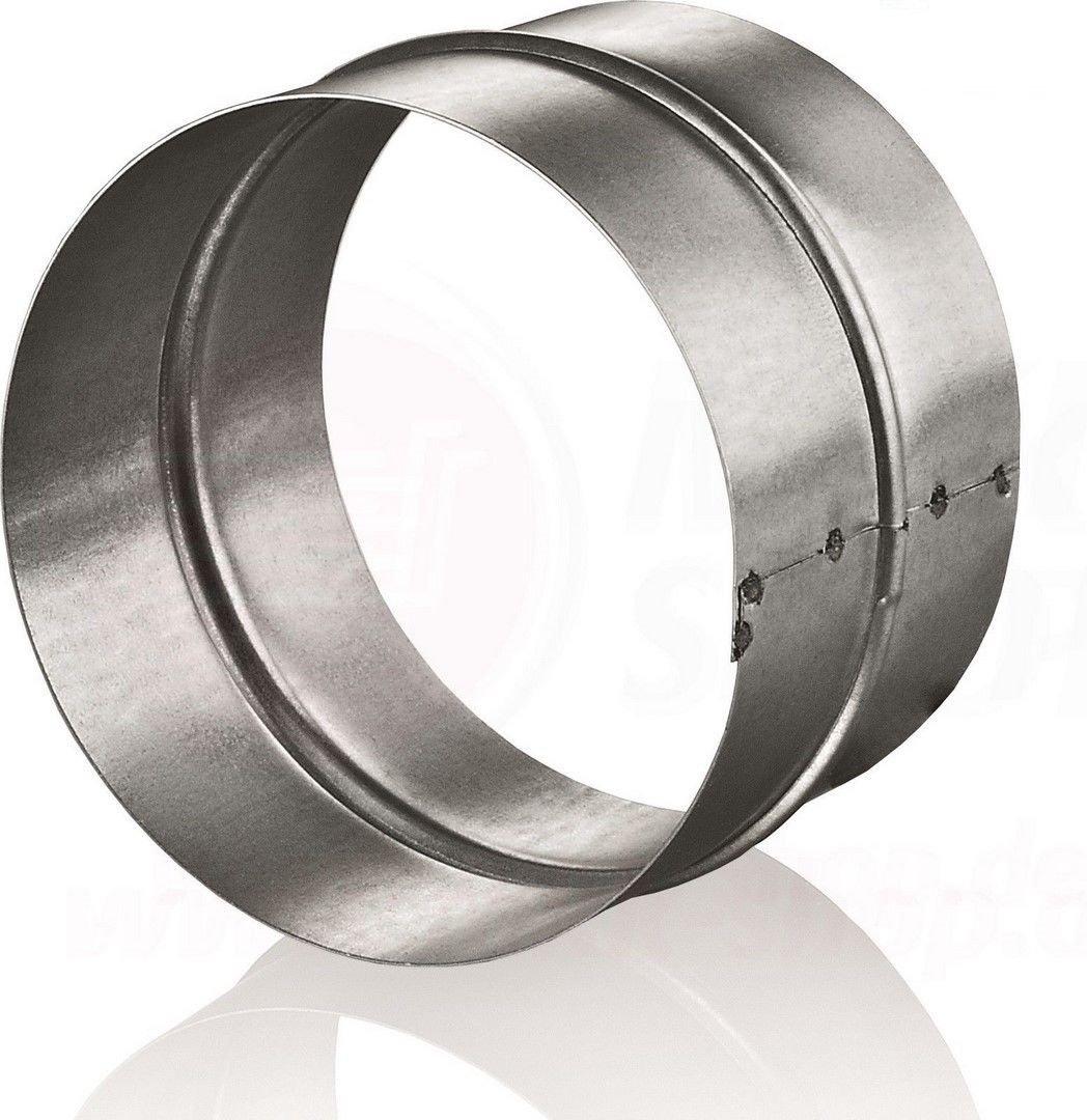 Manchon de raccord, rond, pour tuyaux en aluminium flexibles, raccords d' aé ration, tuyaux en spirale raccords d' aération Prodmax