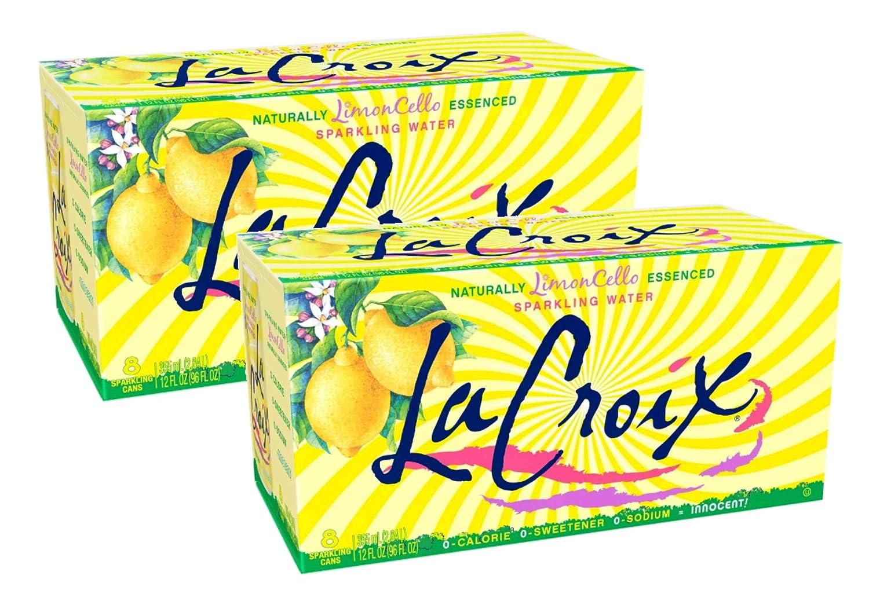LaCroix Limoncello 0 Cal, 0 Sugar Natural Essence Sparkling Water - 16 Pck (12 oz)
