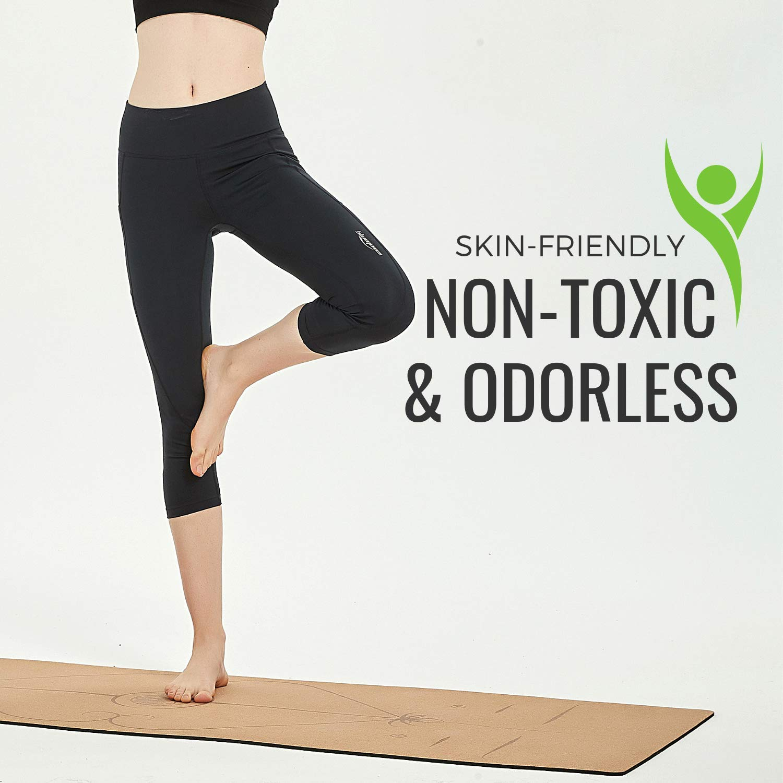 Limerence Premium Esterilla Antideslizante para Yoga con ...