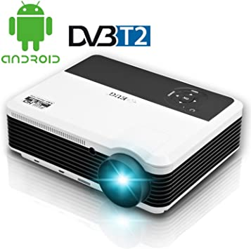 TV digital HD DVB-T2 Proyector LED Wifi Proyector Full HD DTV HDMI ...