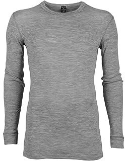 Dilling Merino Langarmshirt für Herren - 100% Natürliche BIO-Merinowäsche 5f478682e6
