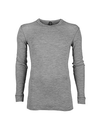 Dilling Merino Langarmshirt für Herren - 100% Natürliche BIO-Merinowäsche   Amazon.de  Bekleidung 22c5549425
