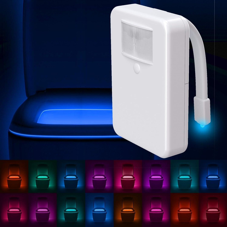 LumiLux Toilet Light 16-Color Motion Detection $11.00 Coupon