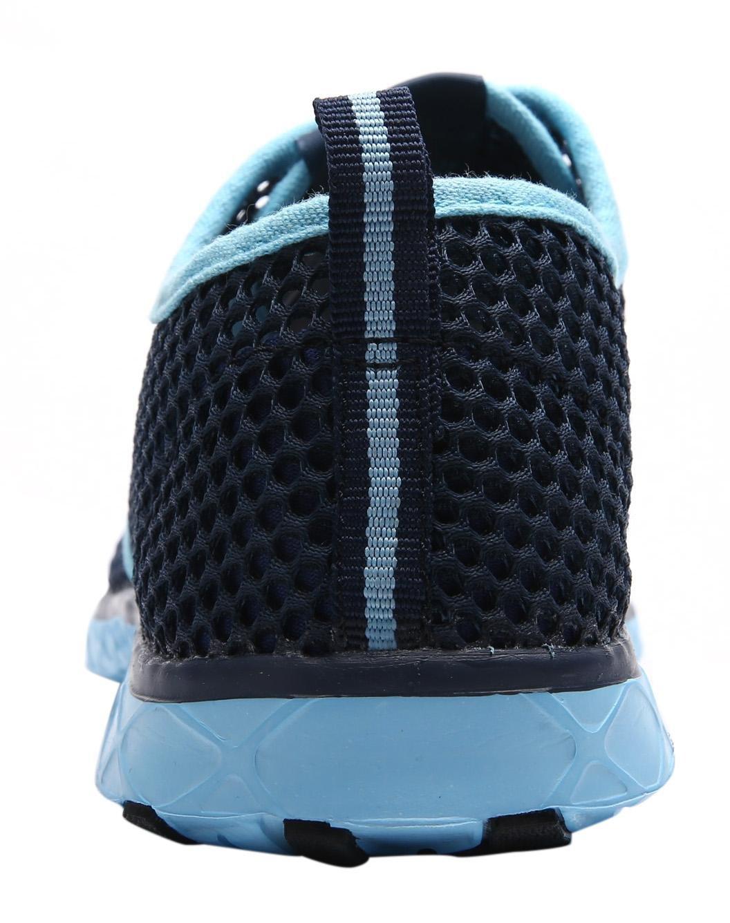 CAIHEE Women's Mesh Lightweight Quick-Dry Aqua Slip On Water Shoes B071H9HK1B 8 B(M) US|Blue