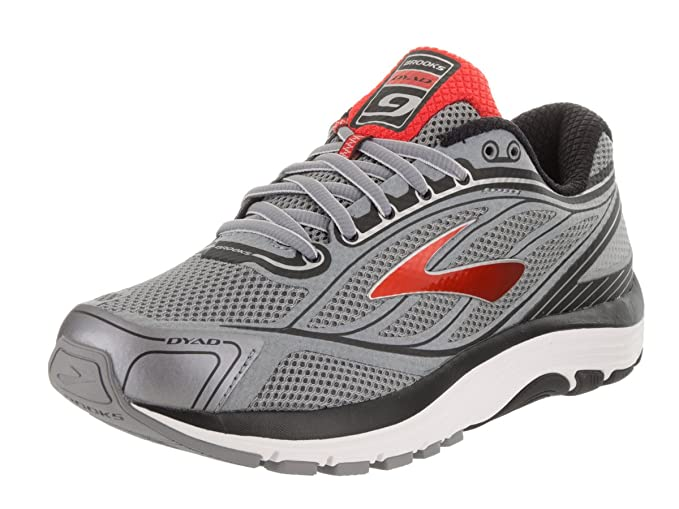 a01c1cc0857 Image Unavailable. Image not available for. Colour  Brooks Men s Dyad 9  Primer Grey High Risk Red Black ...