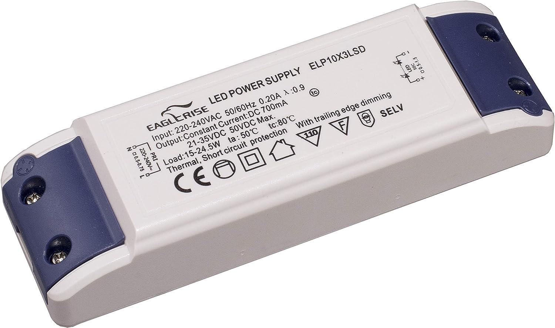 Hochwertiger 3-24W LED Trafo Transformator Treiber Treiber Netzadapter Lampe
