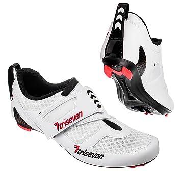 7TRISEVEN Premium TRIATHLON Shoes, Blanco, 44: Amazon.es: Deportes y aire libre
