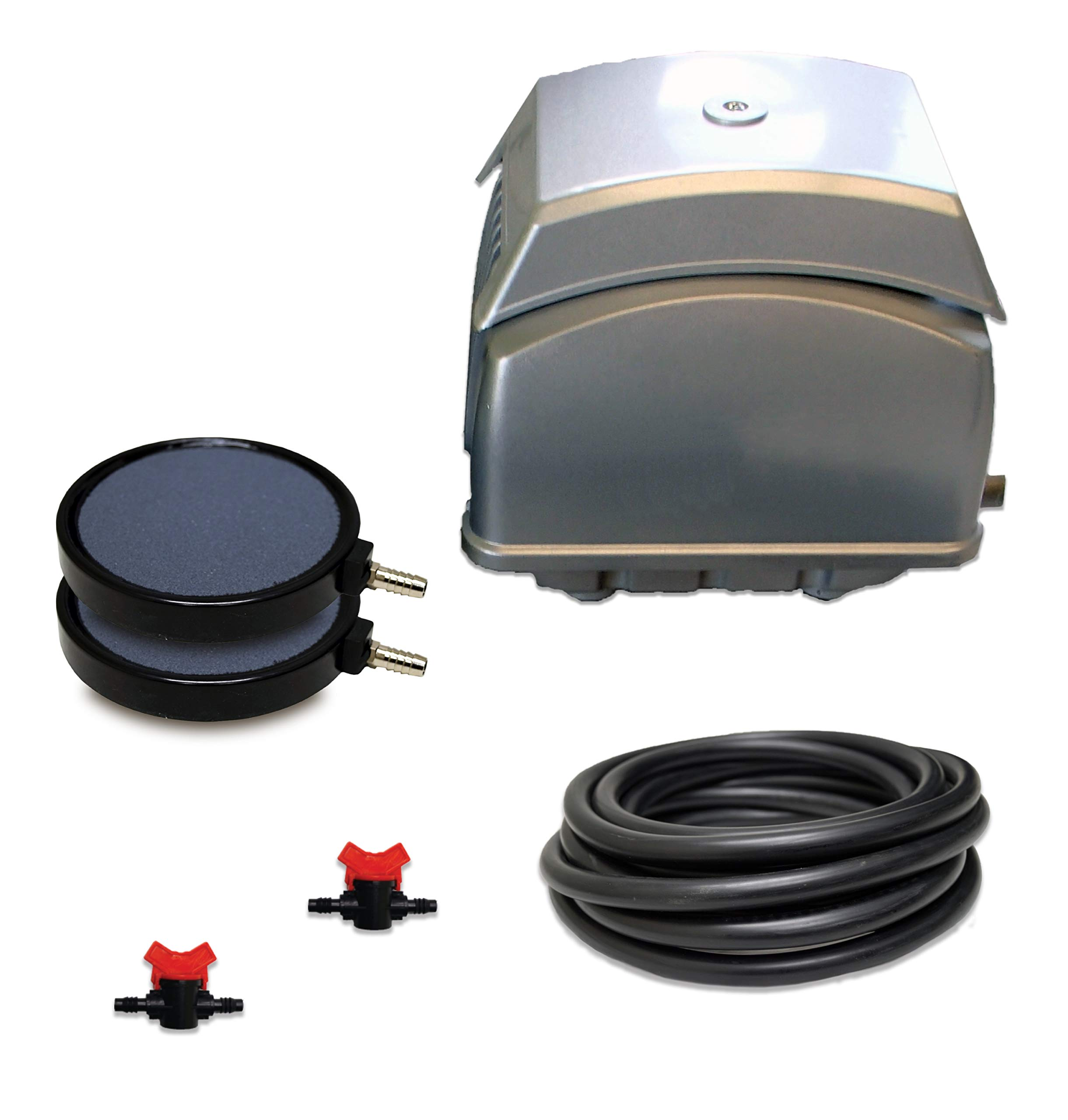 Patriot Bottom Aeration System LLS-65, For Ponds to 8,000 Gallons And Pond Depths To 19 Feet