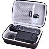 LTGEM EVA Hard Case for Sony ZV-1 Camera with Vlogger Accessory Kit Tripod and Microphone - Travel Protective Carrying Storag