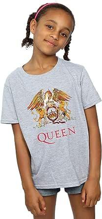 Absolute Cult Queen Niñas Crest Logo Camiseta