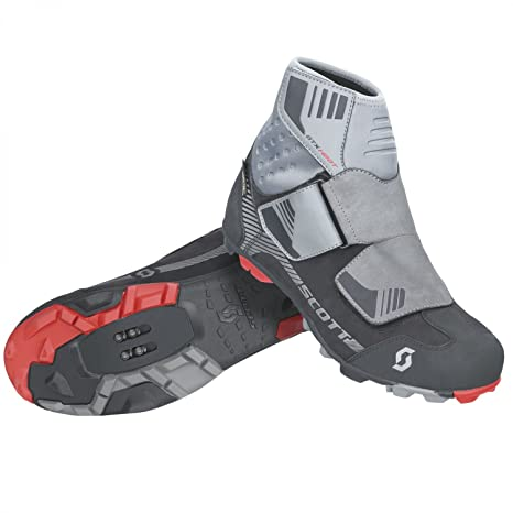 Zapatillas para bicicleta de montaña Scott rejillas de Gore-TEX negro/gris Talla:
