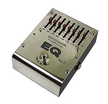 Biyang EQ7 Graphic EQ - Pedal ecualizador para guitarra: Amazon.es: Instrumentos musicales