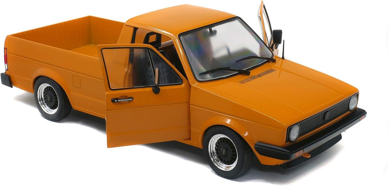 1982 Volkswagen Caddy MKI Pickup Truck Custom Orange 1//18 Diecast Model Car by Solido S1803502