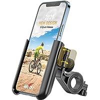 Grefay Telefonhållare för Cykel, Universal Motorcykel Mobiltelefon Hållare Snabb Demontering Telefonhållare för…
