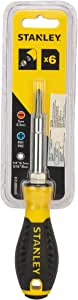 STANLEY Screwdriver, All-in-1, 6-Way (68-012)