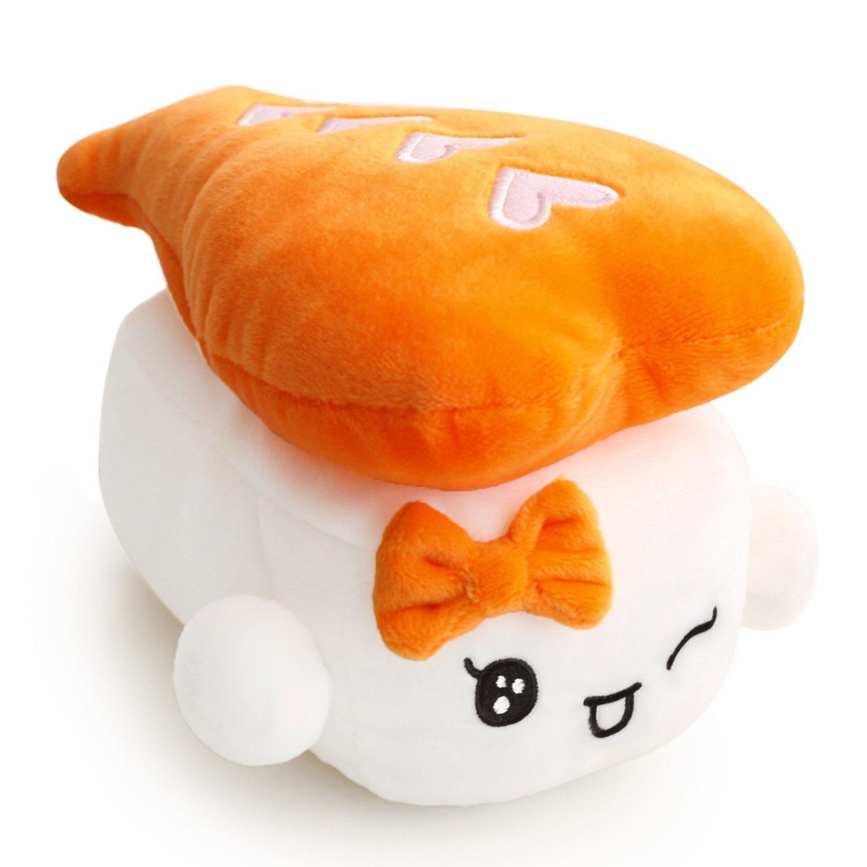 "Amazon.com: Sushi Cushion 19"" (19cm) x 19 set, Egg, Shrimp, Tuna by ..."