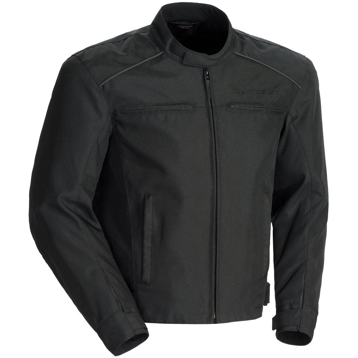 Tour Master Koraza Mens Textile Motorcycle Jacket - Black/Black / X-Large