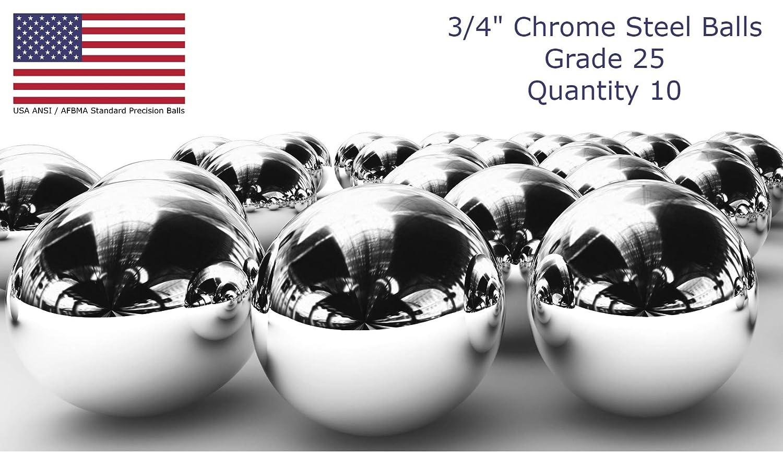 "Ten 1//2/"" Inch Chrome Steel Bearing Balls G25 Free Shipping"