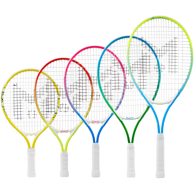 insum Junior Tennis Racquet 25'' Beginner Kids Starter (Ages 9-10) with Shoulder Strap Cover Bag by insum (Image #7)