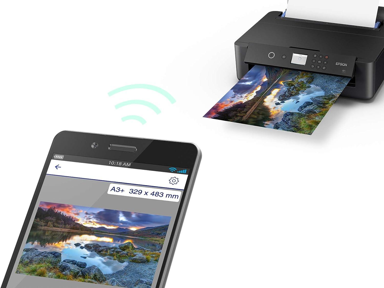 Epson Expression Photo XP-960 3-in-1 Tintenstrahl-Multifunktionsger/ät Drucker schwarz Scannen, Kopieren, WiFi, Ethernet, Duplex, Einzelpatronen, 6 Farben, DIN A3,  Dash Replenishment-f/ähig