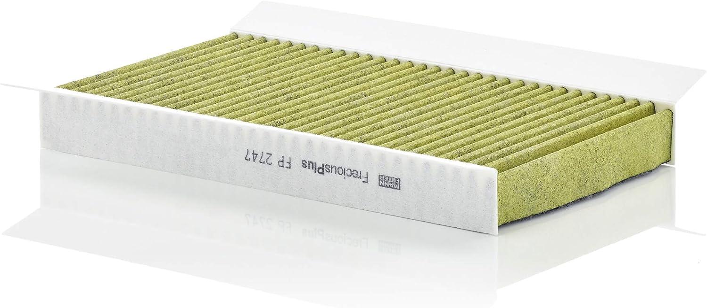 Original Mann Filter Innenraumfilter Fp 2747 Freciousplus Biofunktionaler Pollenfilter Für Pkw Auto
