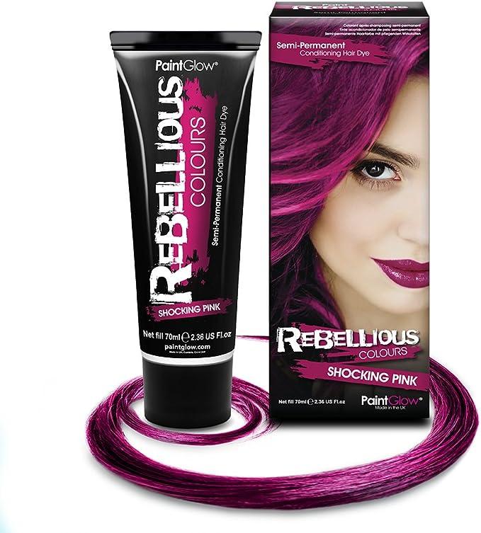 PaintGlow Rebelde colores color rosa fucsia Semi Permanente ...