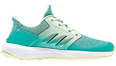 adidas Performance Girls' RapidaRun K, Shock Mint/Shock Mint/Aero Green,