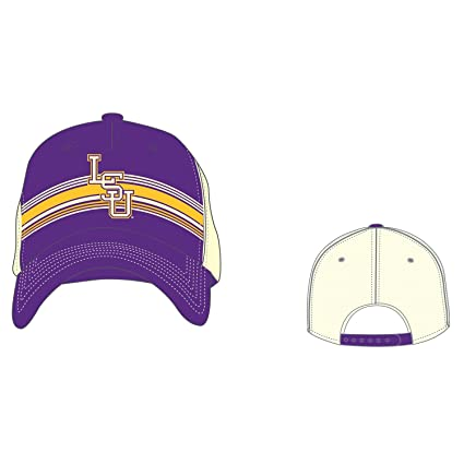 f031567ca45c9 Image Unavailable. Image not available for. Color  LSU Tigers Louisiana  State Trucker Hat Top of the World ...
