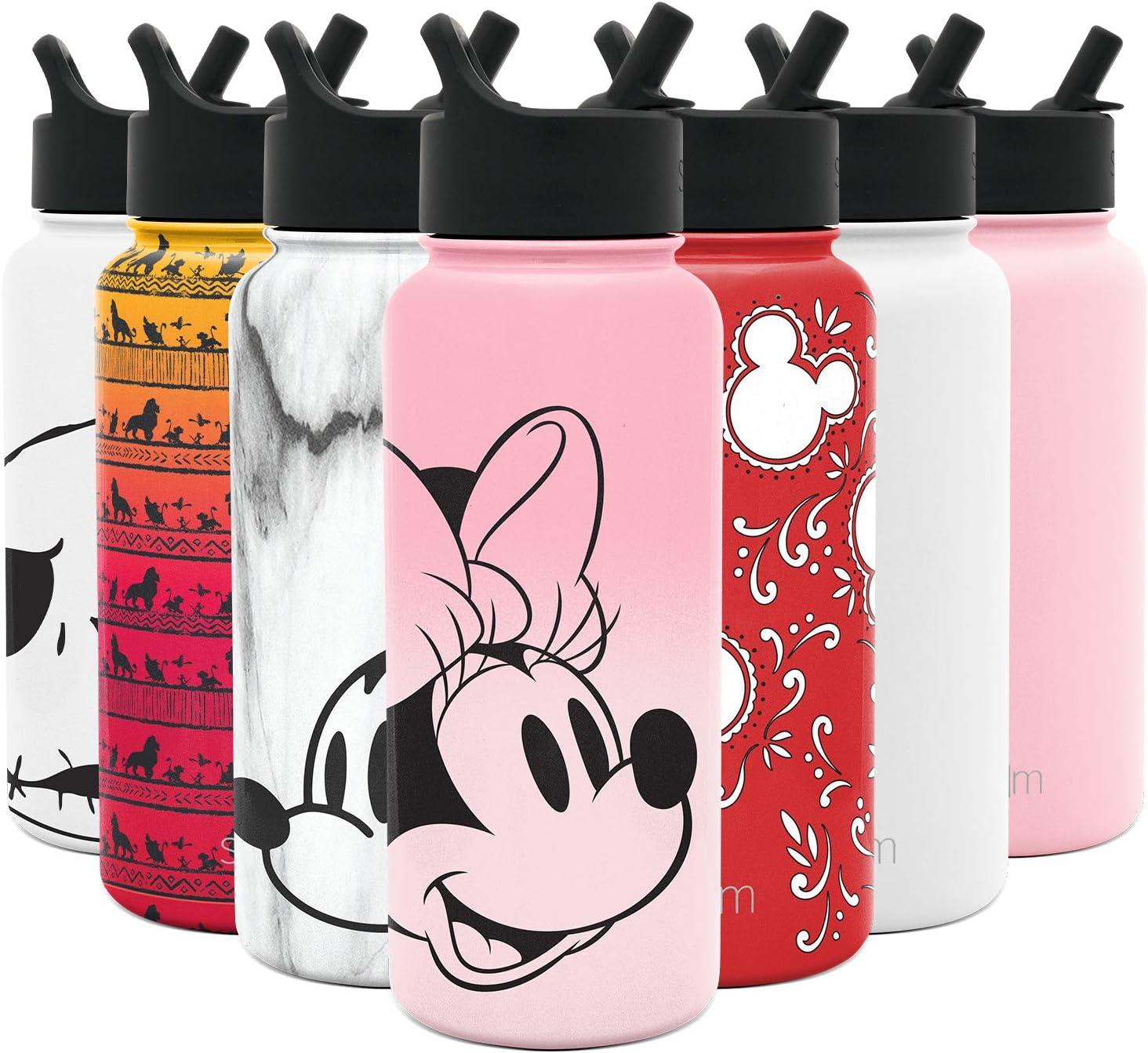 Simple Modern Adult Disney Drinkware, 32oz Bottle, Minnie on Blush