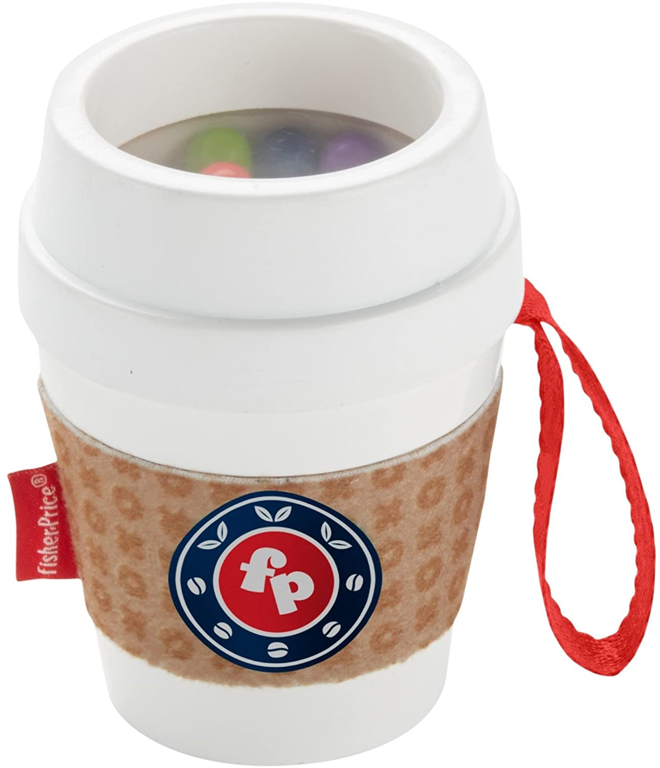 Multi-Colour Fisher-Price DYW60 Coffee Cup Teether