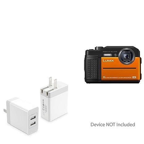 Amazon.com: BoxWave Panasonic Lumix DC-TS7 Cargador, [Dual ...