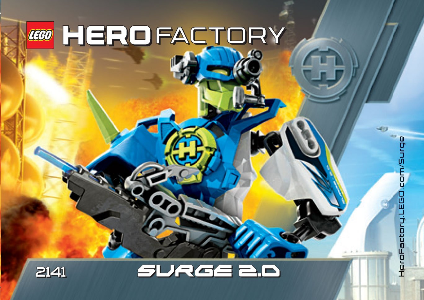 Amazon Lego Hero Factory 2141 Surge 20 Toys Games