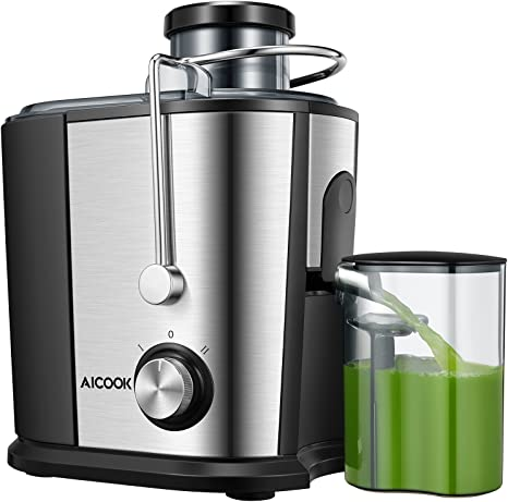 Juicer Juice Extractor, Aicok Wide Mouth Centrifugal Juicer
