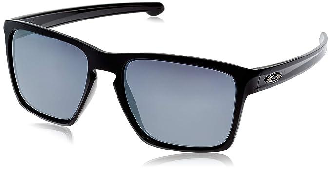 Oakley SLIVER XL, Gafas de Sol Para Hombre, Negro (Polished Black),