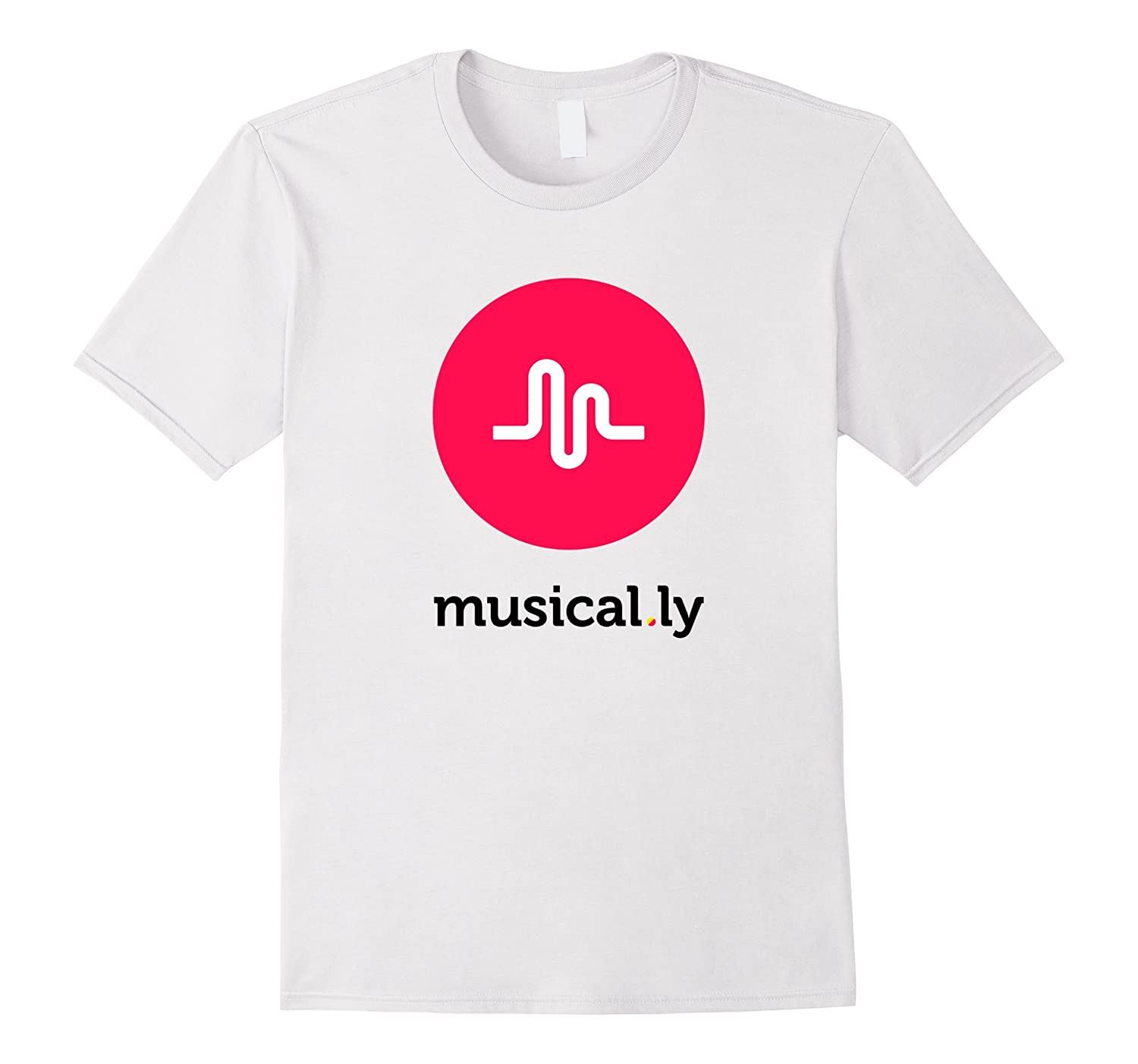 'musical.ly' T-Shirt (White)-BN