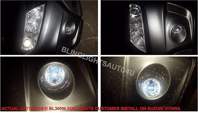 Amazon.com: BlingLights Compatible Fog Lights Kit for 2005-2019 Suzuki Grand Vitara: Automotive
