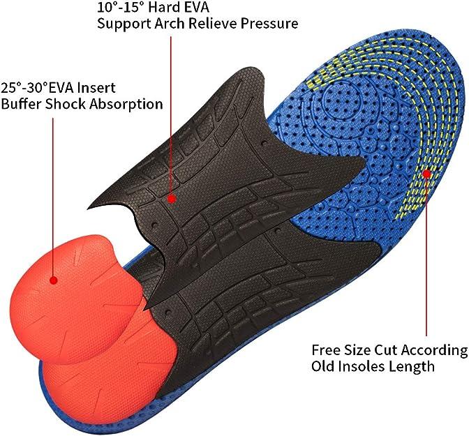 Valsole Sport Cómodas Plantillas - proporciona una absorción de ...