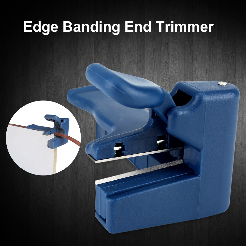 Handle Edge Trimmer Edgebanding End Trimmer Edge Banding Machine End Cutter Set for Wood Furniture Cabinet Manual Tail Trimming Woodworking Tool Plastic (2#) by Yosoo (Image #7)