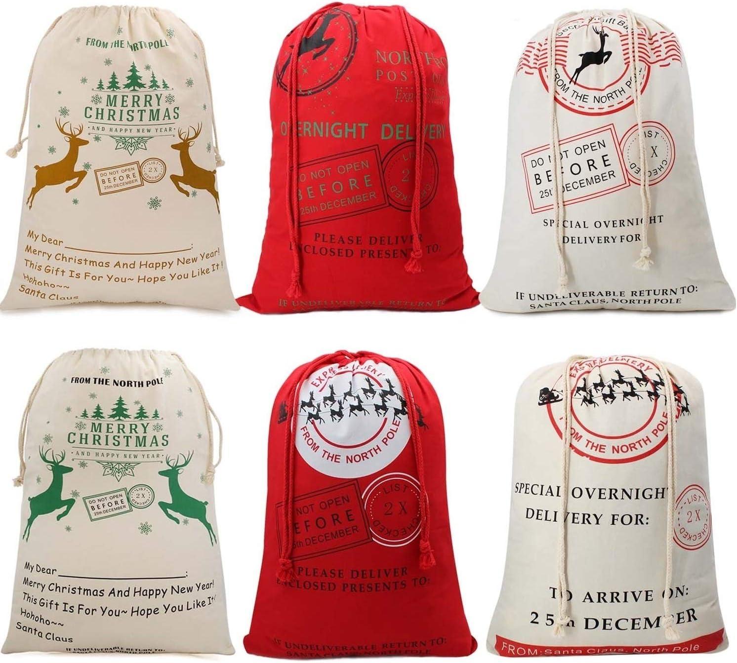 Large Christmas Bags