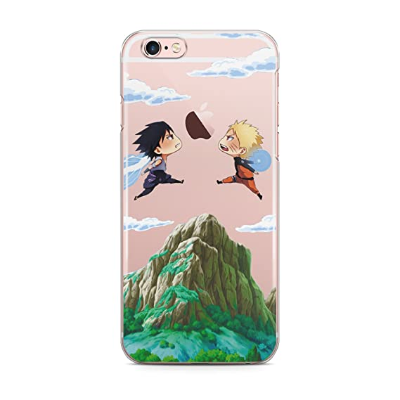 finest selection 16d73 2d381 Amazon.com: iPhone XS Max Newest Release Anime Naruto vs Sasuke Cell ...