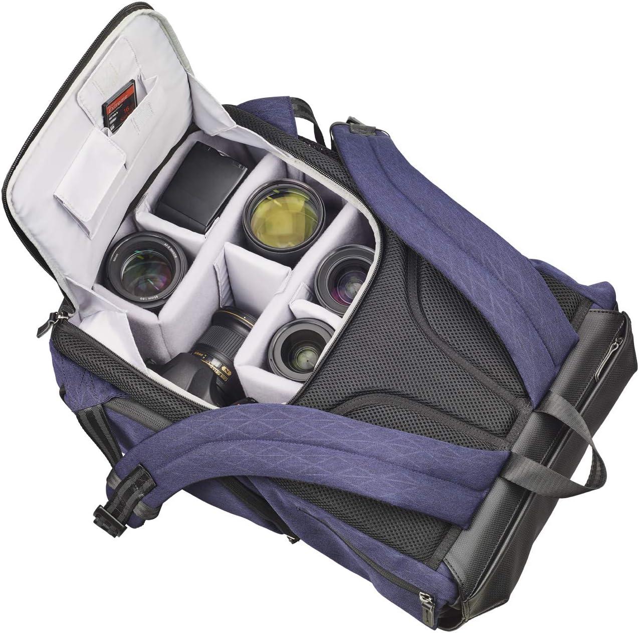 Dunkelblau Kamerarucksack mit Notebook-Fach Cullmann Bristol Daypack 600+ Vintage