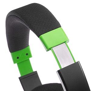 AmazonBasics Gaming Headset - Green (Color: Green)