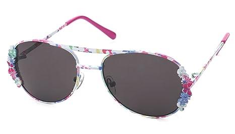 Kiddus Gafas de sol para niñas con mucho estilo y con protección UV400, Edad recomendada de 6 a 12 años. Fabulous, Metal Lila